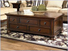 square coffee table cabinet impressive large square coffee table with drawers 7 distressed dark wood home