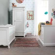 white vintage styled nursery furniture set