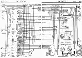 ford v8 galaxie 1963 complete electrical wiring diagram all ford v8 galaxie 1963 complete electrical wiring diagram