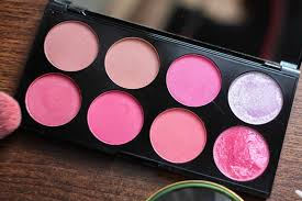 makeup revolution sugar e blush palette