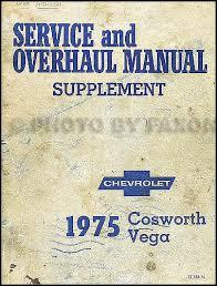 1976 cosworth vega foldout wiring diagram original 1975 1976 chevrolet cosworth vega repair shop manual original supplement