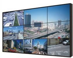 Small Picture CCTV Monitor Display 46 inch 3x3 LCD video wall with 57mm screen