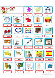 Sh And Ch Worksheets Free Worksheets Library | Download and Print ...