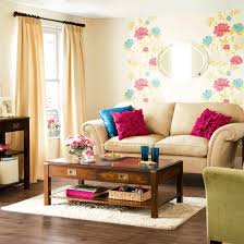 colorful living room. happy colorful living room c
