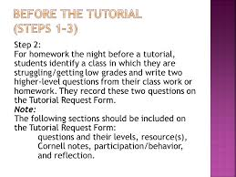From Avid Tutorial Support Curriculum Resource Guide) - Ppt Download