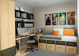 home office small office space. Home Office Small Space Furniture A Wood Storage Bed Finished Wardrobe