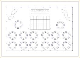 reception layout template round table seating plan long wedding