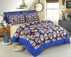 oakland raider bed sets bedding set print bed set full size duvet cover set sheet skull