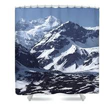 landscape shower curtain magical night by cook fabric shower curtain mountain shower curtain landscape shower curtain