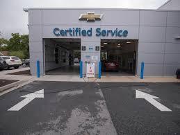 autonation chevrolet laurel service center