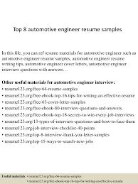 Automotive Test Engineer Sample Resume 22 Tester Resume