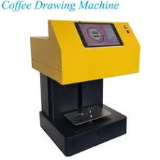 Vertical Coffee Latte Art Maker 220V Coffee Latte Drawing Machine ...