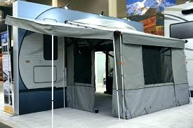 screen rv awning enclosure diy rooms with room space reviews