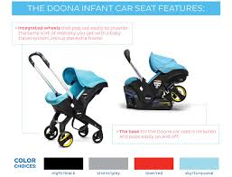 doona infant car seat stroller magic beans