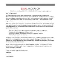 Sample Cover Letter For A Sales Position Sales Job Cover Letter
