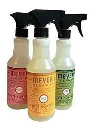 meyers clean day countertop spray clean day holiday multi surface cleaner bundle pine orange clove mrs