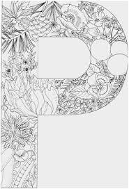 Letter Printable Coloring Pages Cute Letter A Kleurplaat Coloring