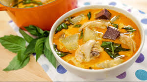 Thai Kitchen Yellow Curry Light Chicken Curry With Winter Melon U Recipe Video