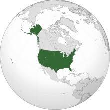 United States Map Of The World United States Wikipedia