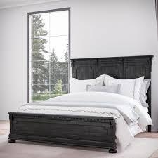 Distressed Wood Bed | Wayfair