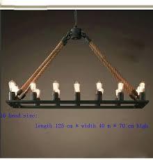 rope chandelier empire rope chandelier