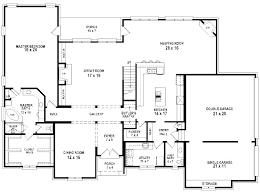 rectangle house plans 4 bedroom 5 bedrooms 3 bathrooms bath floor plan decoration items