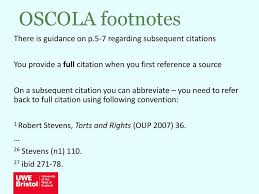 Oscola Referencing Librarians For Business And Law Fbl Ppt Download