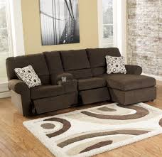 Living Room Sectionals With Chaise Signature Design By Ashley Cybertrack Chocolate Power Reclining