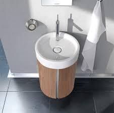 duravit bathroom vanity units. duravit starck wall mounted 450mm circular vanity unit and 470mm basin bathroom units v