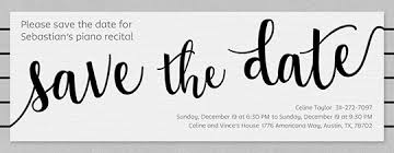 Blank Save The Date Cards Free Save The Date Invitations And Cards Evite Com