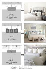 king pillows on queen bed.  Bed 3 Ways To Arrange Pillows On King Size Bed On Queen Bed K