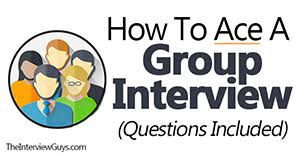 group interview questions how to ace a group interview questions included