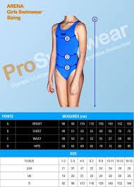 Arena Swim Size Chart Arena Kids Camo Kun Swimsuit Black