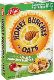 honey bunches of oats with apples cinnamon bunches