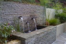 amazing outdoor wall fountain with regard to plan 10 hbocsm com clearance modern diy large canada