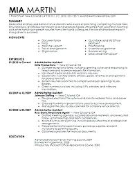 Administrative Assistant Job Description For Resume Template Awesome Legal Secretary Resume Templates Example Of Examples For Assistant