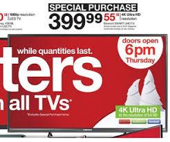 $399.99 55-inch Element Smart UHD TV Deal at Target Black Friday Sale