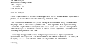 Sample Cover Letter For Sales Representative Gallery Cover