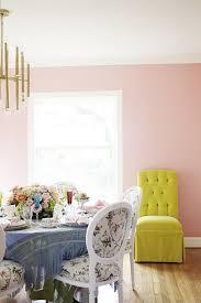 Pale Pink Bedroom A Pale Pink Dining Room Freutcake