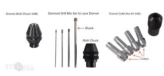 rotary tool bits. diamond drill bits set for your dremel, dremel multi chuck and collet nut kit rotary tool t