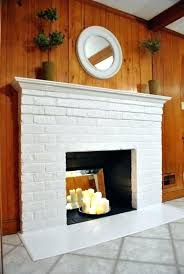 whitewashed brick before and after painted brick fireplace before and after how to prep prime and paint a brick fireplace painting painted brick fireplace