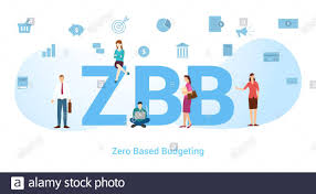 What Is Zero Based Design Zbb Zero Based Budgeting Concept With Big Word Or Text And