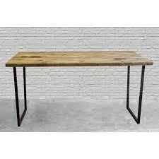 brooklyn modern rustic reclaimed wood desk brooklyn modern rustic reclaimed wood
