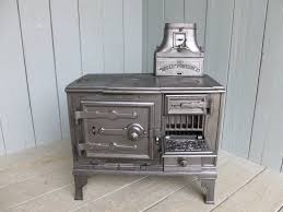 original antique reclaimed victorian kitchen stoves made by belle portable out of cast iron fully refurbished