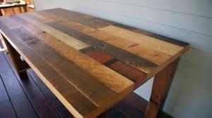 Brilliant Wood Desk Tops Throughout 33 Stunning Reclaimed Desks ...