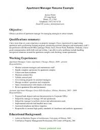 Excellent Assistant Property Manager Duties Resume Property Manager
