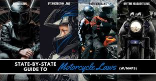 Pa Motorcycle Inspection Chart State By State Guide To Motorcycle Laws W Maps