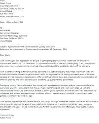 Test Analyst Cover Letter Frankiechannel Com