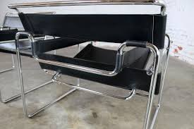 vintage wassily chairs by marcel breuer made in italy
