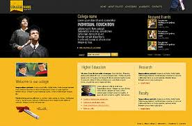College Templates College Html Template Id 300091383